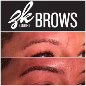 Eyebrow Microblading | Hair Salon Denver Zandi K  Aveda